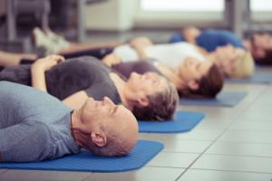 3. Richtige Entspannung (Savasana)